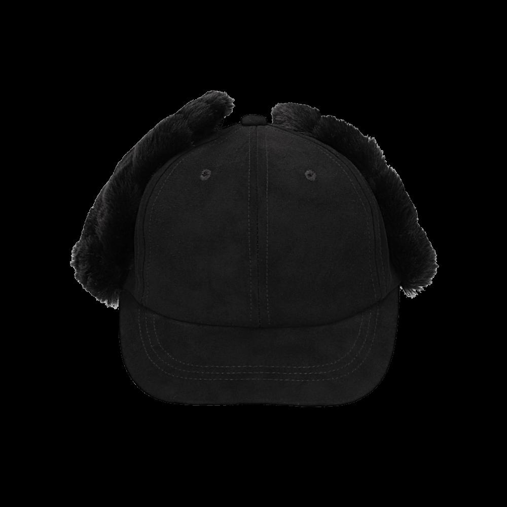 撮影サンプル ファー帽子