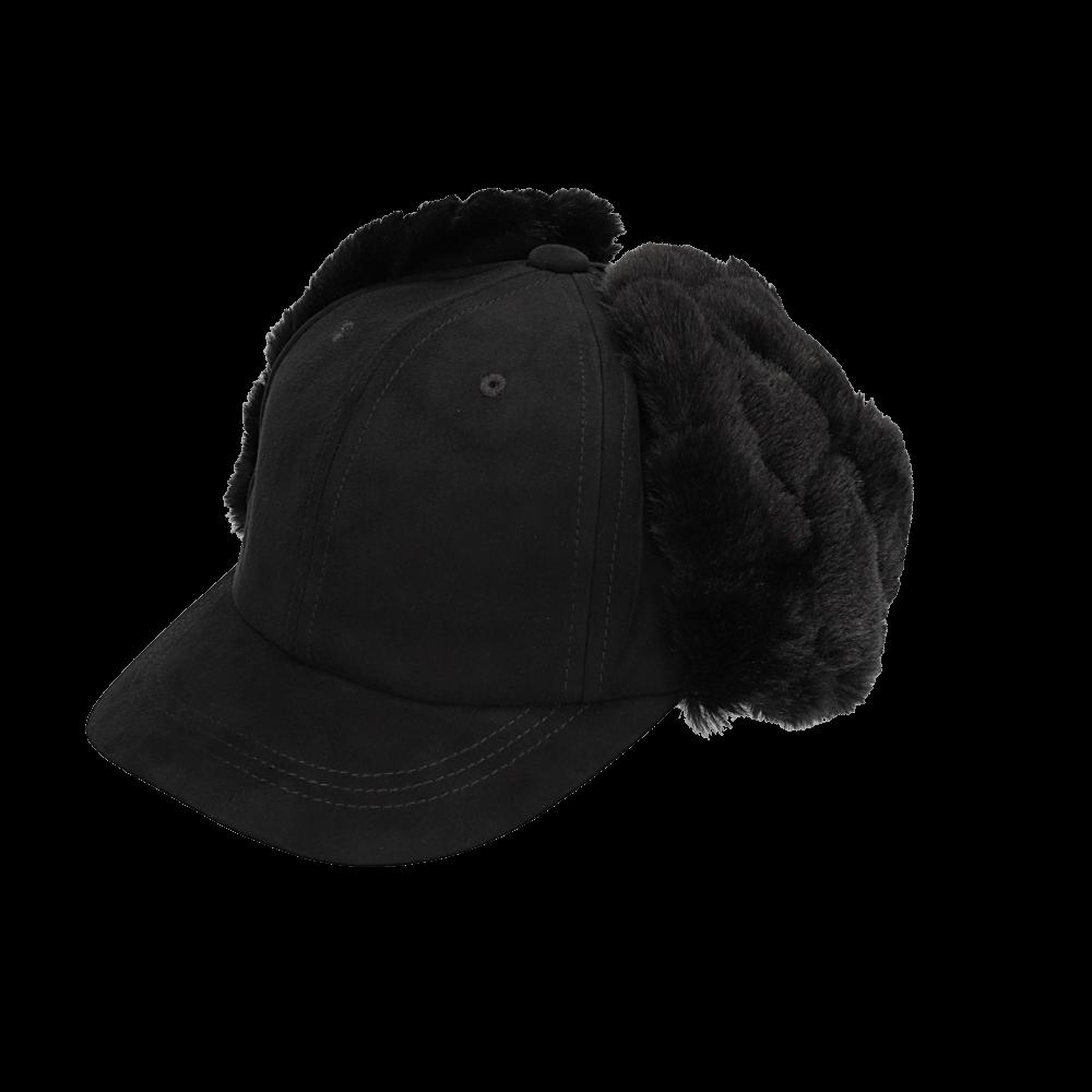 ファー帽子の撮影サンプル1